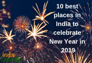 10 best places in India to celebrate New Year in 2019