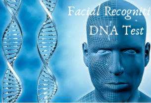 Facial recognition DNA test