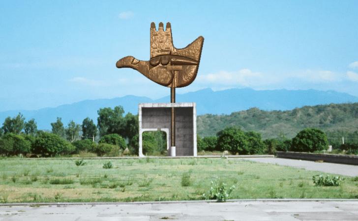 Open Hand Monument, Chandigarh