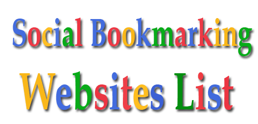 Free Social Bookmarking Sites List 2019