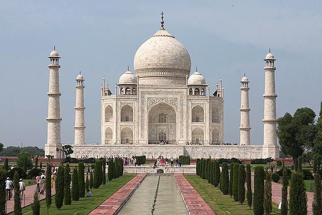 Taj Mahal - future of India