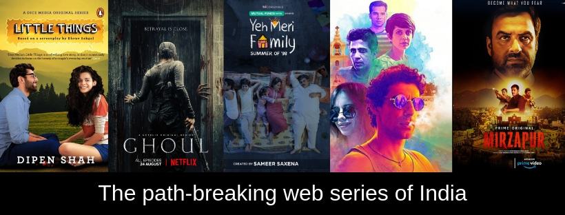 The path-breaking web series of India