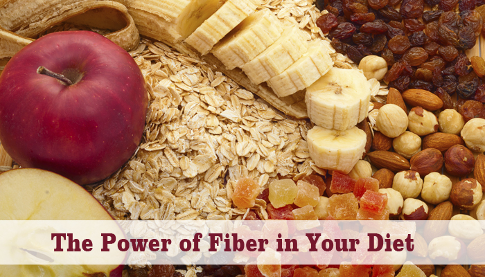 Eat fiber-rich food to lose weight