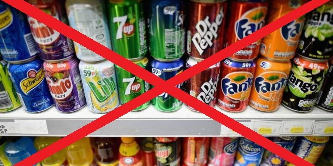 Eliminate sugary drinks to lose weight