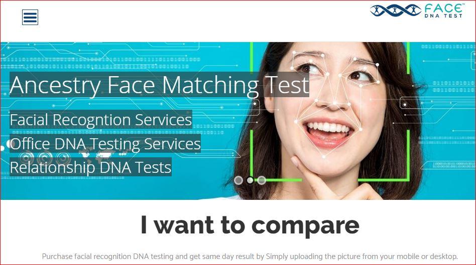 Fcae DNA test