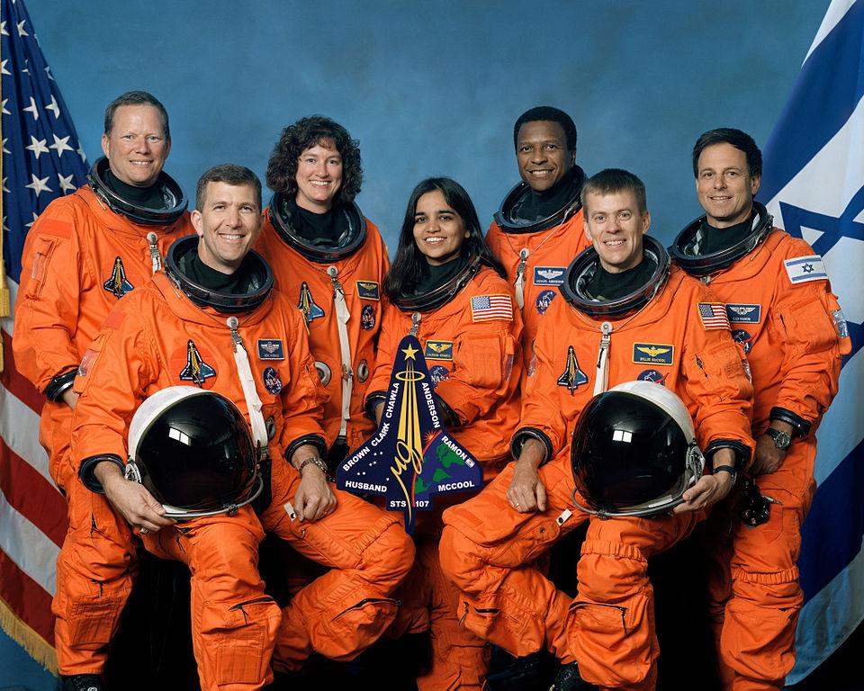 Kalpana Chawla's second flight was also her last.