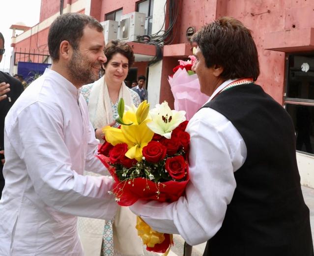 Priyanka Gandhi's Maiden Roadshow - Congress