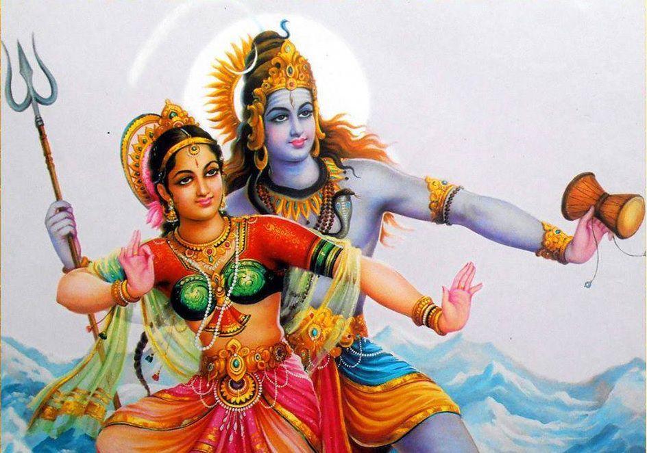 Shiva and Shakti - Maha Shivratri