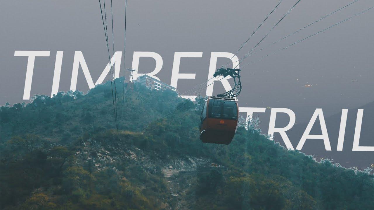 Timber trail - the city beautiful Chandigarh