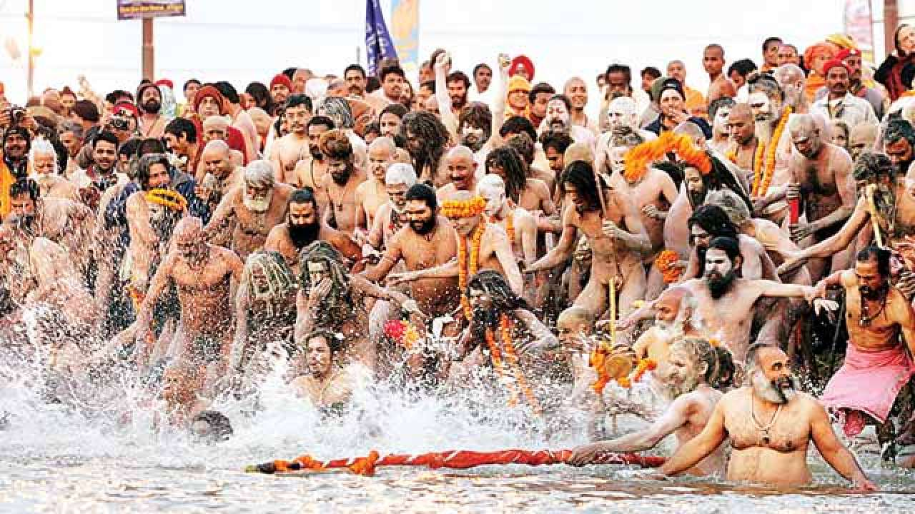 more than 150 Million Devotees visit Kumbh Mela to take bath