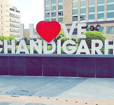 the city beautiful Chandigarh places