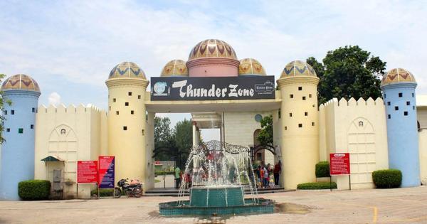 thunderzone - the city beautiful Chandigarh